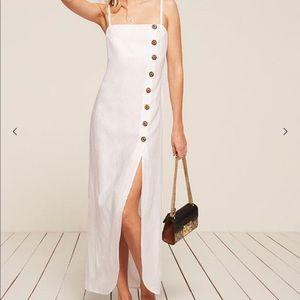 Reformation white dress